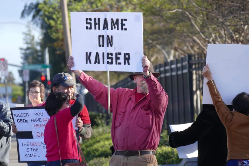 Hundreds Rally in Support of Nurse Fighting Kaiser – 209 Times