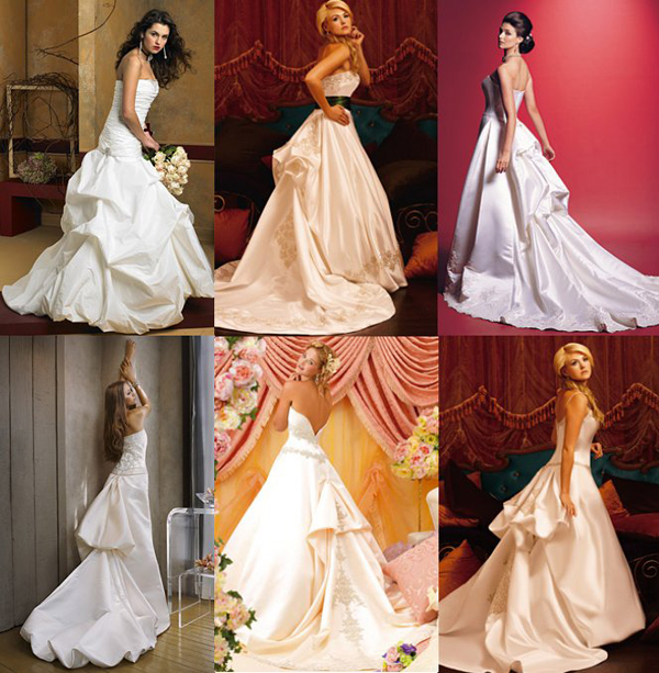 How To Bustle A Wedding Dress 7