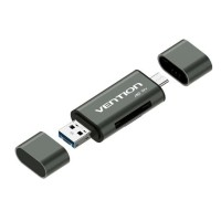 Gambar Untuk Vention CCH All In 1 Micro USB 3.0 Type C OTG Card Reader Micro SD TF