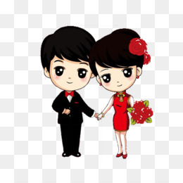 Wedding Cartoon Couple Cute 7