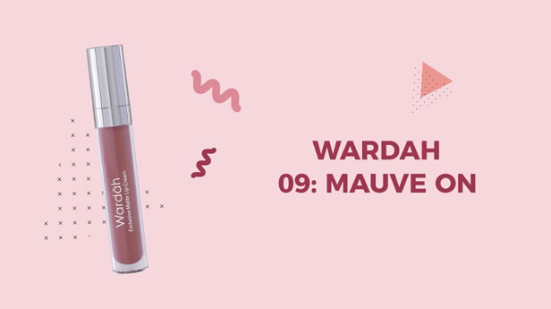 Wardah Exclusive Matte Lip Cream 09
