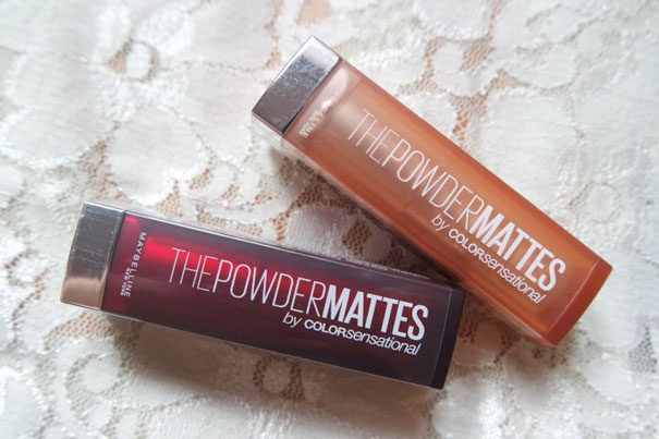 Maybelline The Powder Mattes, shade Plum Perfection