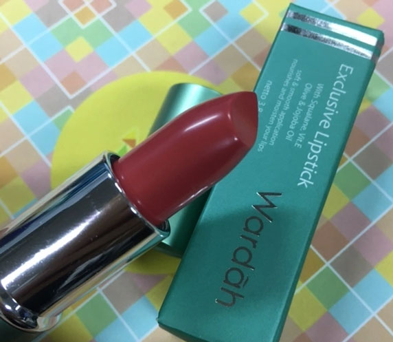 Wardah Exclusive Lipstick, shade Orchid Pink