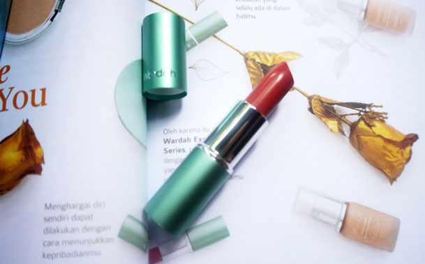 Wardah Exclusive Lipstick, shade Rosewood