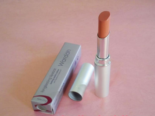 Wardah Long Lasting Lipstick, shade Simply Brown No. 3