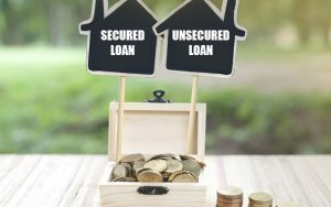 secured loan and unsecured loan