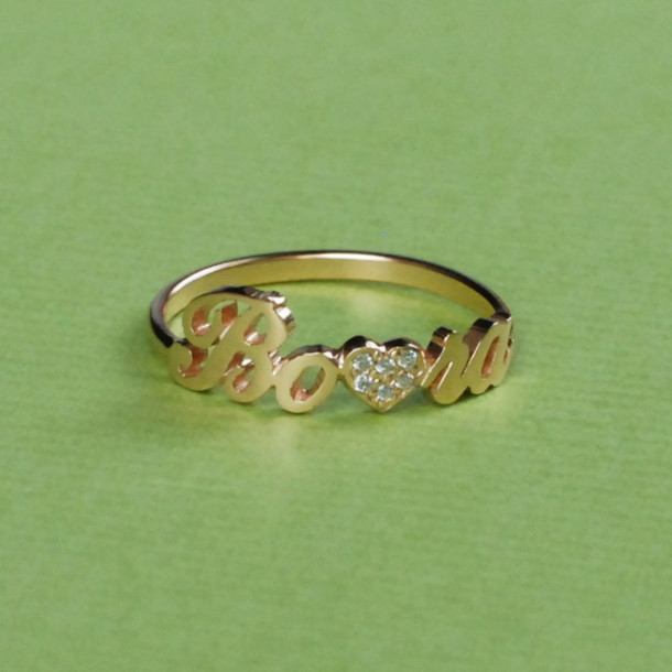 Wedding Rings With Name 6