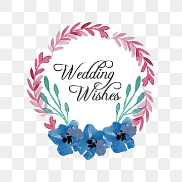 Wedding Wishes Png 2
