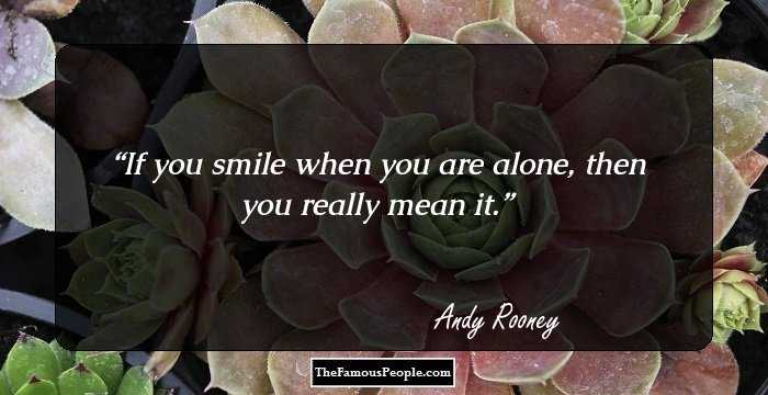 Andy Rooney Quotes 1