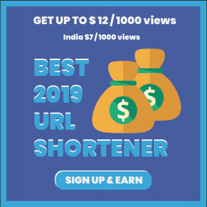 High CPM Shortener URL
