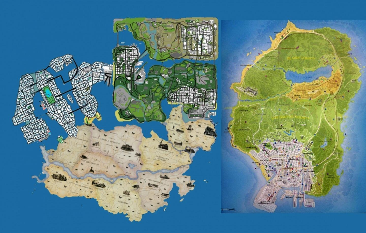 Gta 6 Map Of America.Gta 6 Grand Theft Auto Vi Release Date Maps Location And News