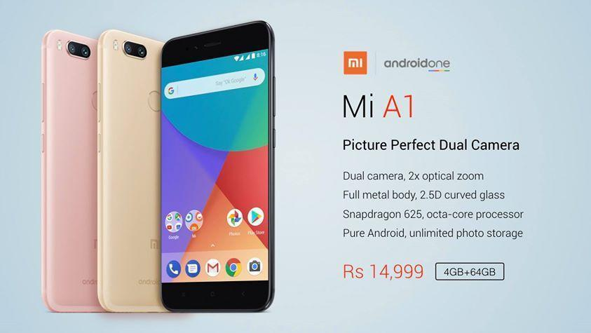 Mi A1 price and specs