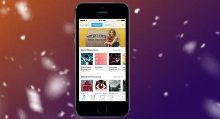 iTunes on iPhone