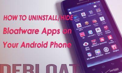 how to uninstall bloatware on android device