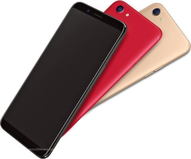 OPPO F5 in different colors
