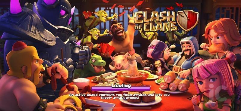 Clash of Clans Lunar festival