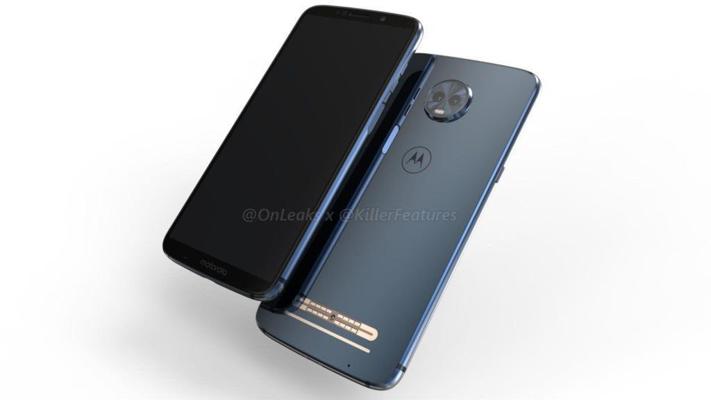 Moto Z3 Play Concept leaks
