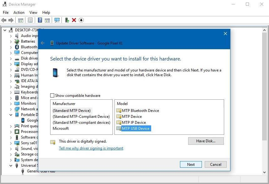 device manager win10
