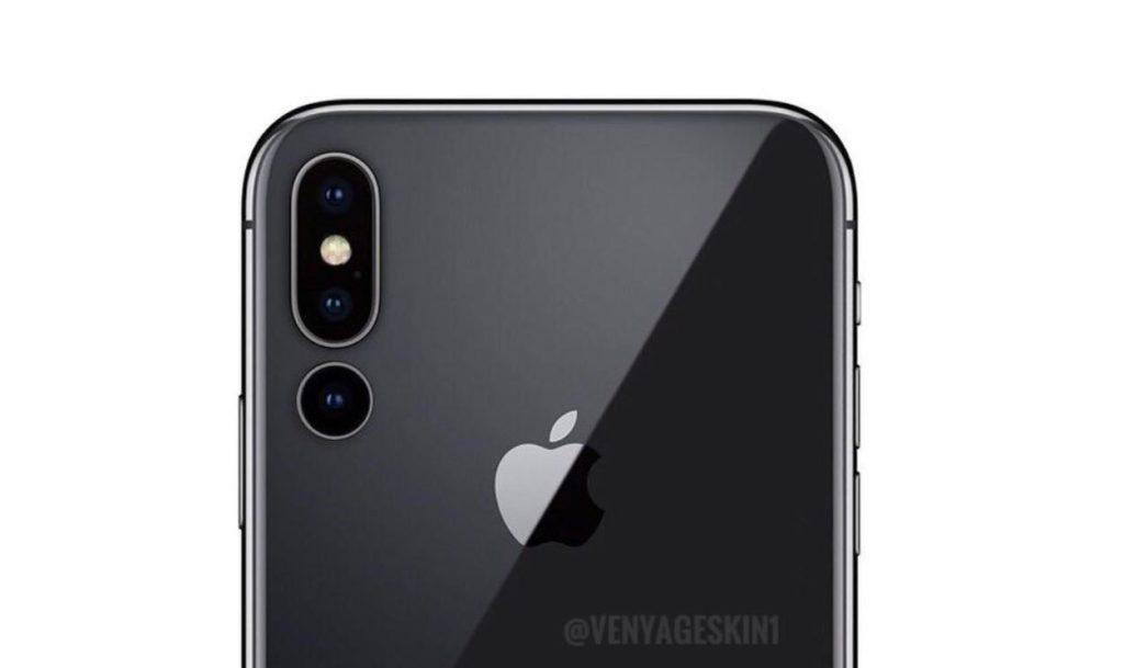 iPhone X Triple Cameras