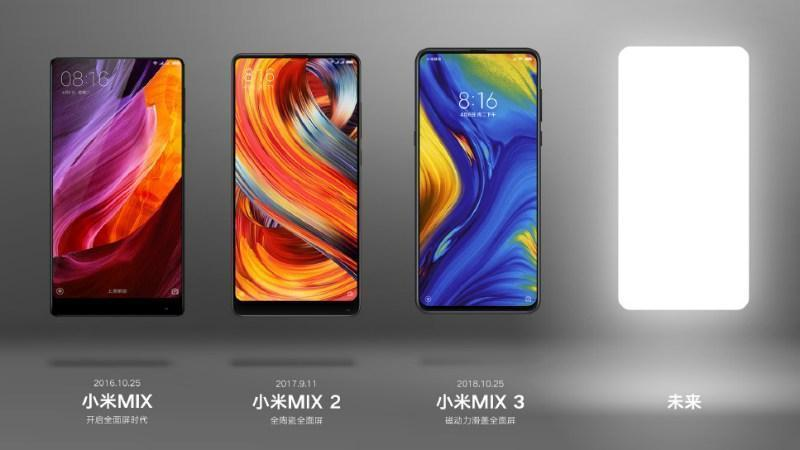 MI Mix series and Mi Mix 4 teaser