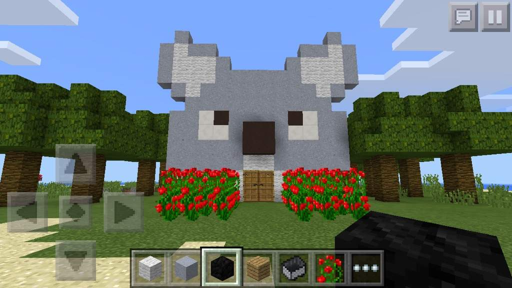 Minecrft pocket edition creative mode