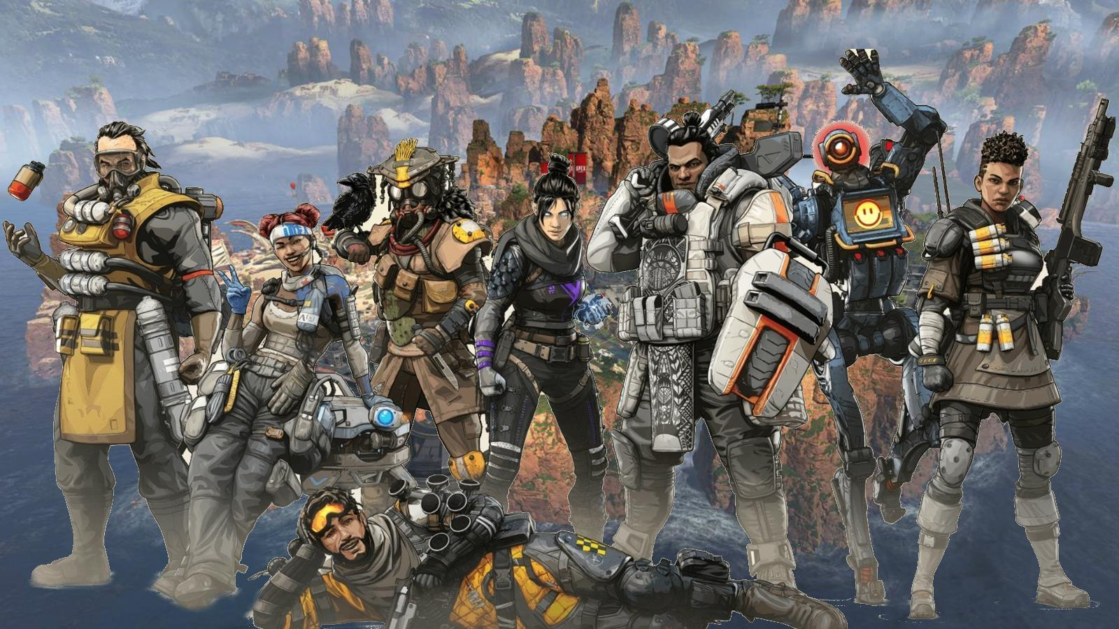 Apex Legends Eight Legends