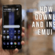 how to down;load and install emui 9.1