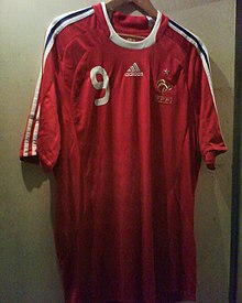Maillot Rouge France 5