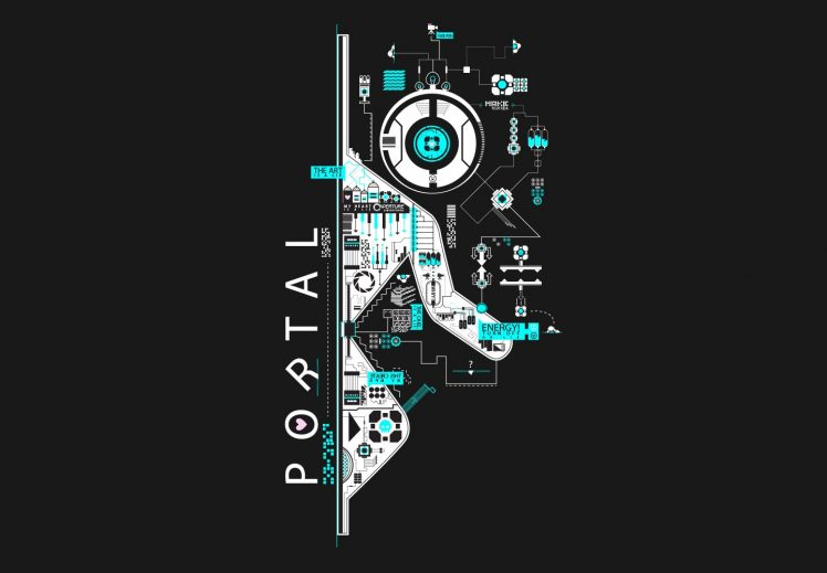 Portal 2 Hd Wallpaper 4
