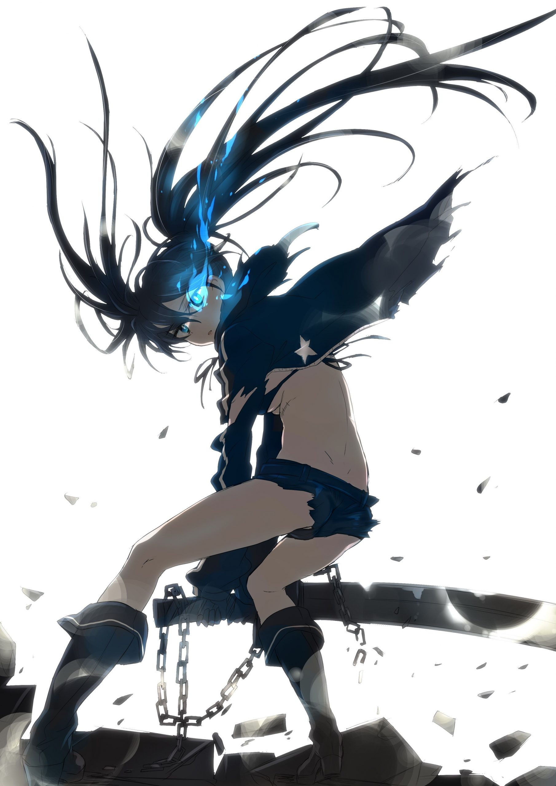 Black Rock Shooter scaled