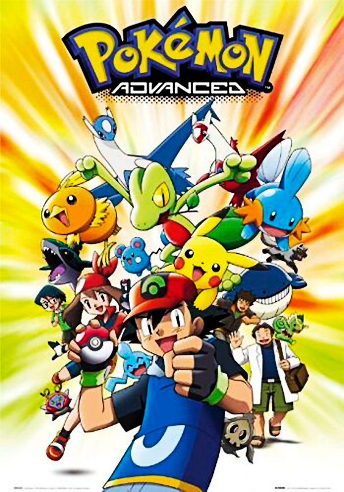 Pokémon 6ª Temporada Avançado Advanced