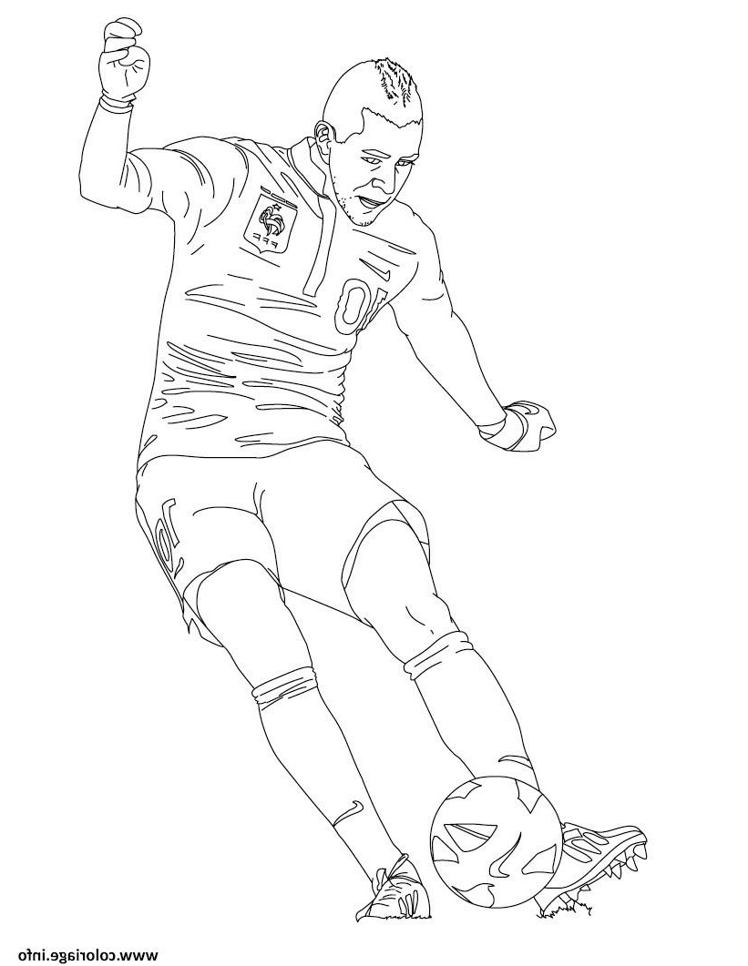 Download 25+ Kylian Mbappe Coloring Pages PNG PDF File   Download ...