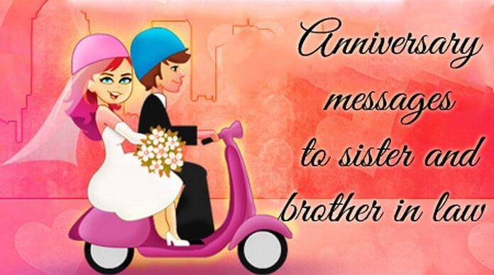 Wedding Anniversary Wishes To Sister And Brother In Law 1
