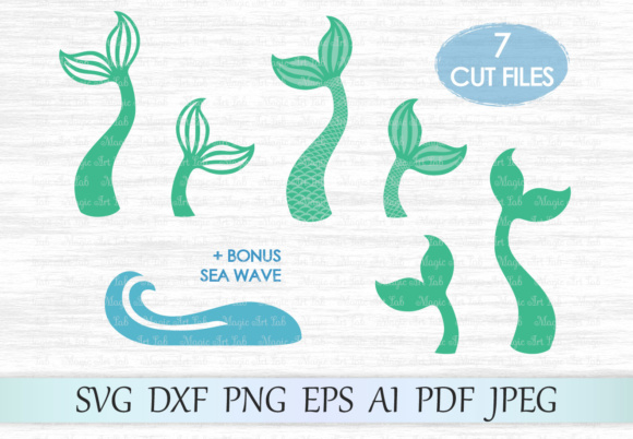 Download Silhouette Mermaid Tail Svg Free Cut Files Include Svg Dxf Eps And Png Files