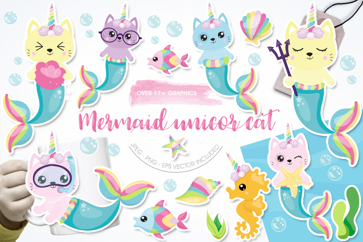 Download Mermaid Unicorn Svg Free Free Cut Files Include Svg Dxf Eps And Png Files