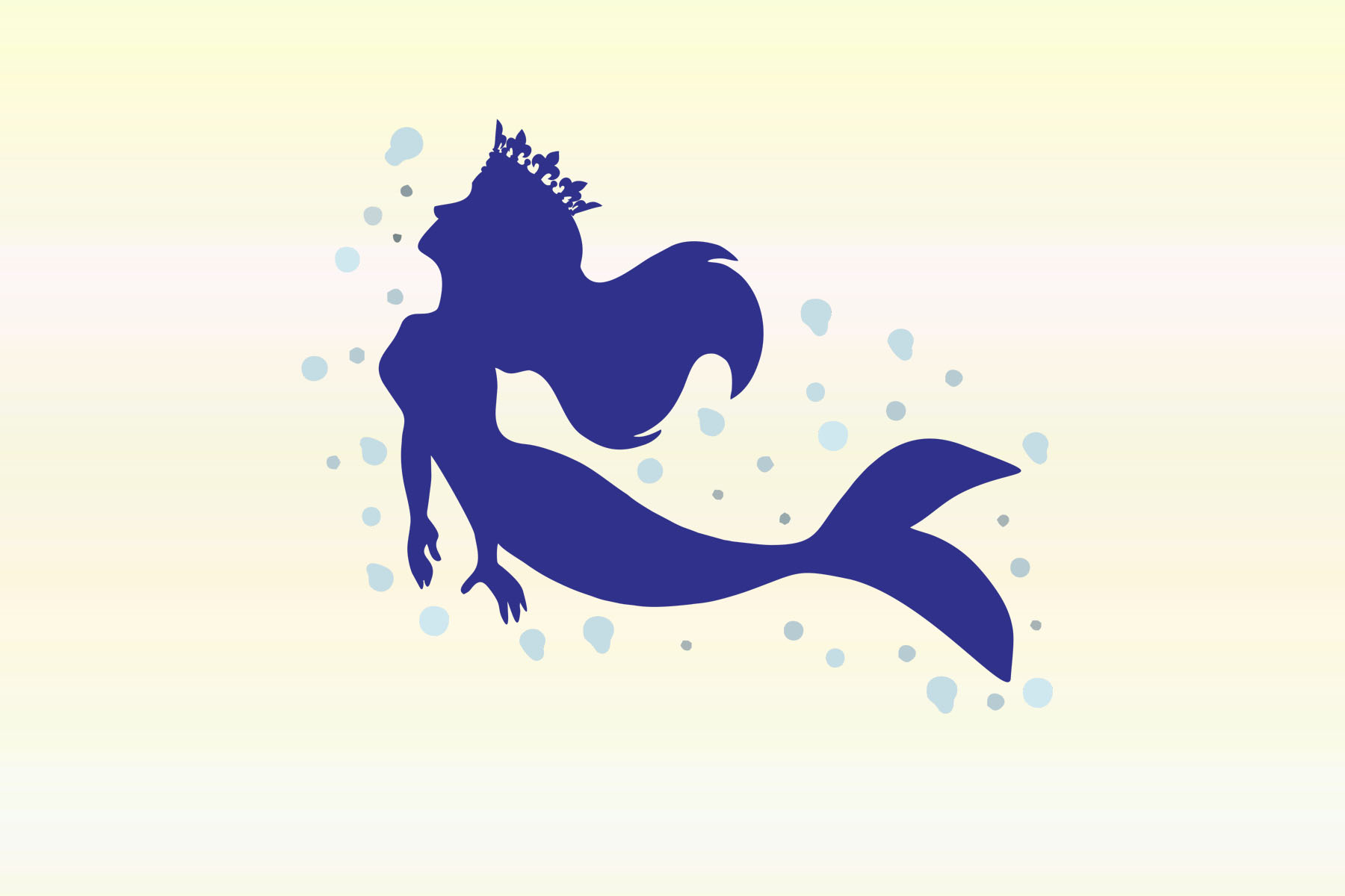 Download Silhouette Cameo Mermaid Svg Free Free Cut Files Include Svg Dxf Eps And Png Files