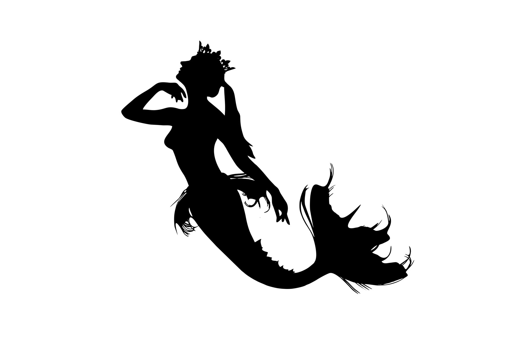 Download Silhouette Mermaid Scales Svg Free Free Cut Files Include Svg Dxf Eps And Png Files