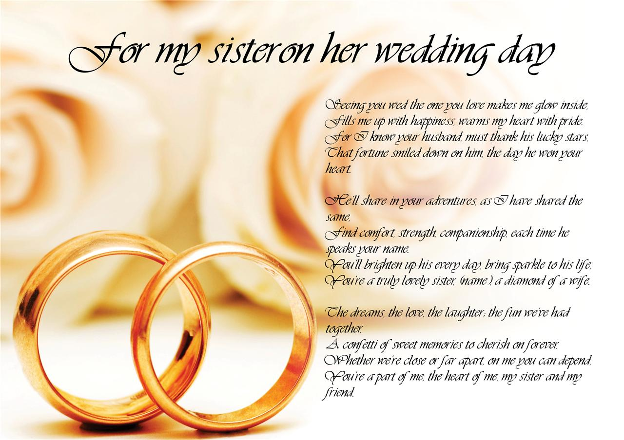 Sister Wedding Quotes 2