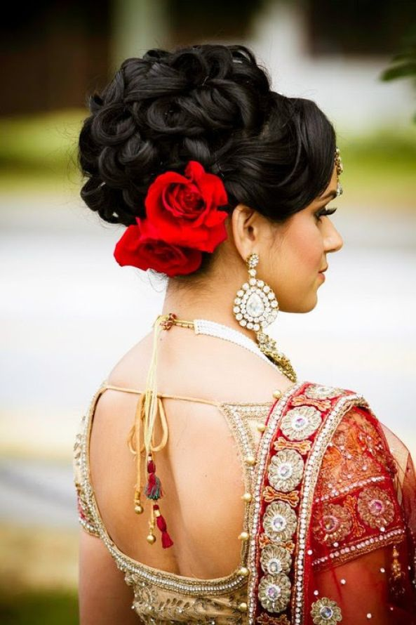 Indian Hairstyles For Wedding 7