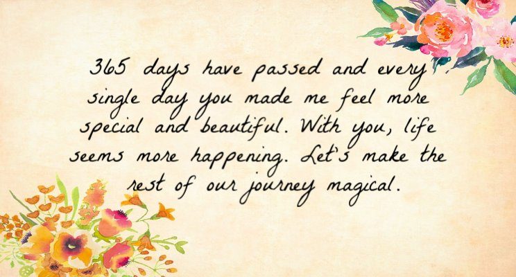 1st Wedding Anniversary Wishes For Husband 1