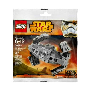 LEGO Star Wars TIE Advanced Prototype 30275 Mainan Blok & Puzzle