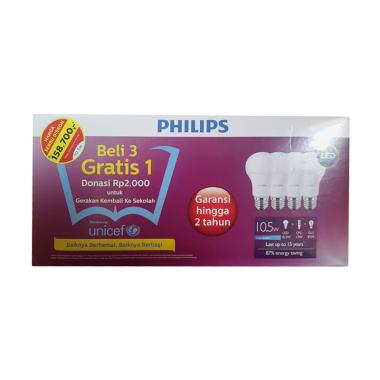 Paket Philips Lampu LED [10.5 Watt]