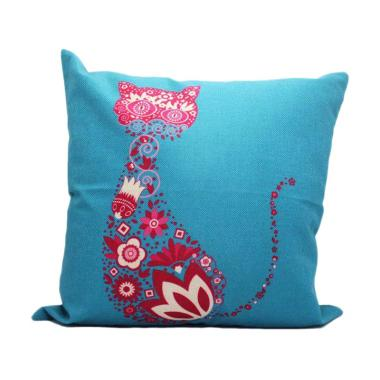 KUKUK SRGBTL-PRINT Sarung Bantal Print Cat Pillow Case