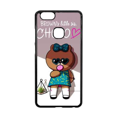 Bunnycase Brown is Little Sis Choco L0605 Custom Hardcase Casing for Vivo V7