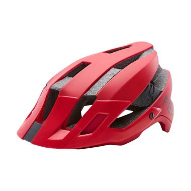 Fox Flux Helm Sepeda - Bright Red [20106-179]