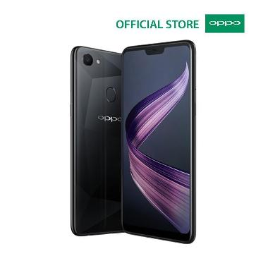 oppo f7 (diamond black, 64 gb)