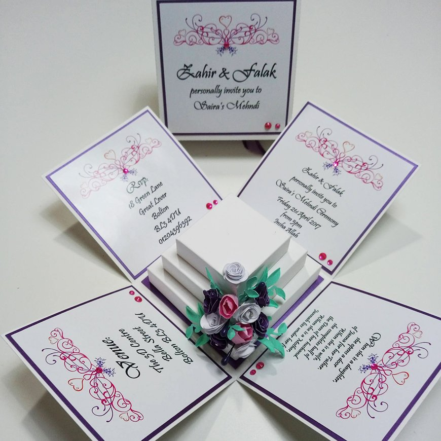 Unquie Wedding Invitations 2
